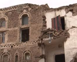 Проливные дожди разрушают исторические здания в столице Йемена: видео