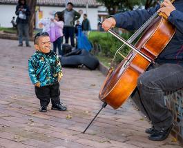 Самый маленький в мире мужчина отметил 34-й день рождения: фото Эдварда из Колумбии