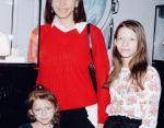 Елена Борщева с дочерьми