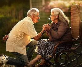 Любовь в зрелом возрасте: 10 фото при взгляде на которые невозможно сдержать улыбку