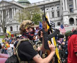На фоне протестов в США резко выросли продажи огнестрельного оружия