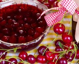 Рецепт вкусного вишневого варенья из 3-х доступных ингредиентов