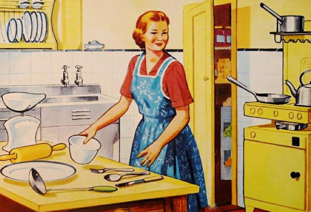 домохозяйка