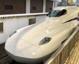 В Японии введен в эксплуатацию ультрасовременный поезд N700S: видео