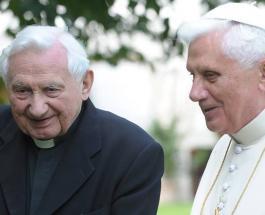 Умер брат Папы Римского Бенедикта XVI: Георг Ратцингер скончался на 97-м году жизни