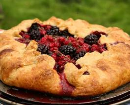 Пирог с ягодами от Юлии Высоцкой: рецепт вкусного летнего десерта