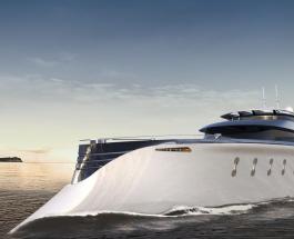 Роскошная яхта с кинотеатром и гаражом на борту разработана голландской фирмой