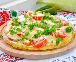 Кабачковая пицца – отличный вариант завтрака: как приготовить оригинальное блюдо
