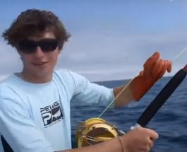 Тунец весом 249 килограммов пойман в США: охота за огромной рыбой длилась 7 часов