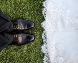 Необычная свадьба на границе Норвегии и Швеции: жених и невеста находились в разных странах
