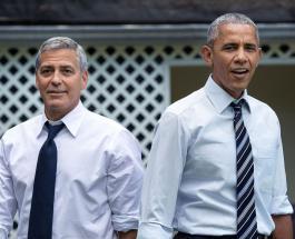 Барак Обама и Джордж Клуни объединились для поддержки Джо Байдена в преддверии выборов