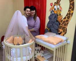 """Пополнение в шоу """"Дом-2"""": Саша Черно и Иосиф Оганесян впервые стали родителями"""