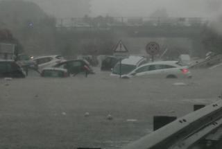 Самый сильный дождь в истории Сицилии выпал в Палермо: два человека погибли