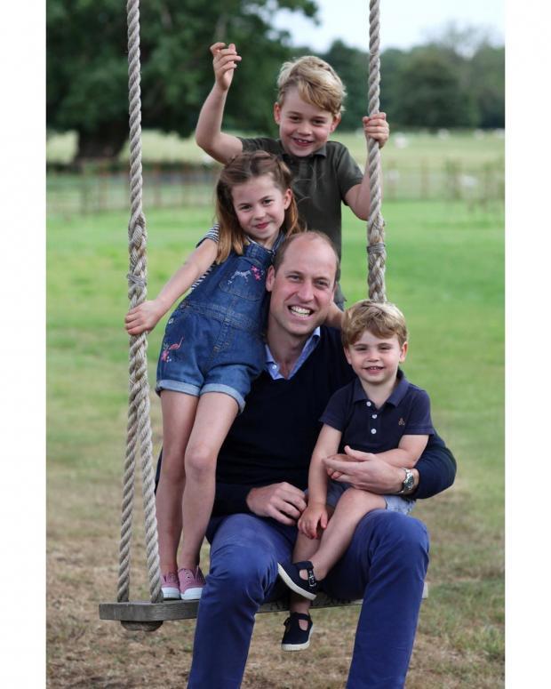 Уильям с детьми