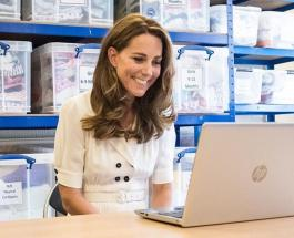 Новые фото Кейт Миддлтон: герцогиня приняла участие в разгрузке товаров для малообеспеченных семей
