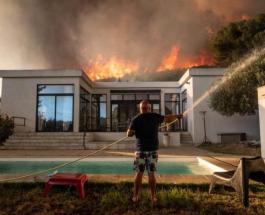 Более 2700 человек эвакуированы во Франции из-за сильного лесного пожара