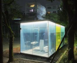 """Прозрачные уборные в Токио: японские архитекторы показали разработку из """"умного стекла"""""""