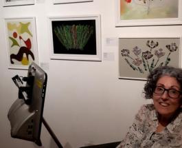 Картины нарисованные глазами: впечатляющие работы и трогательная история 54-летней британки