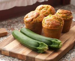 Ароматные кексы с кабачками: рецепт вкусной закуски для всей семьи