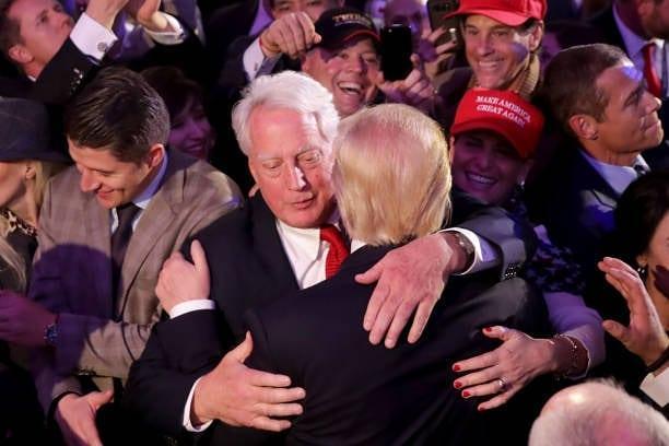 Дональд и РОберт трамп
