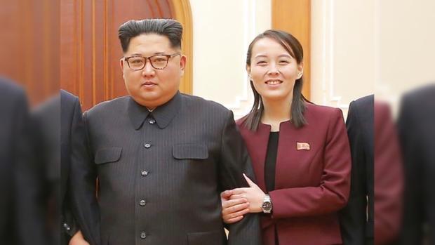 Ким Чен Ын и его сестра Ким Ё Чжон