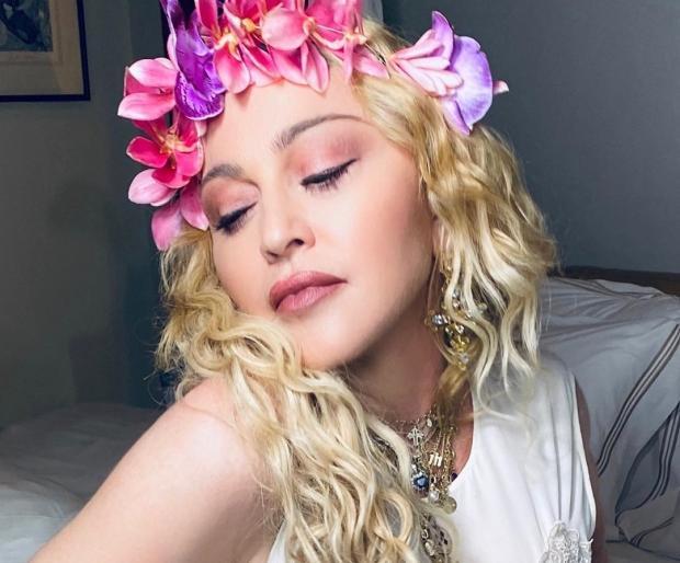 Мадонна в день рождения