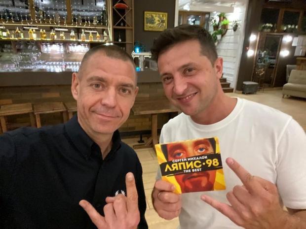 Сергей Михалок и Владимир Зеленский