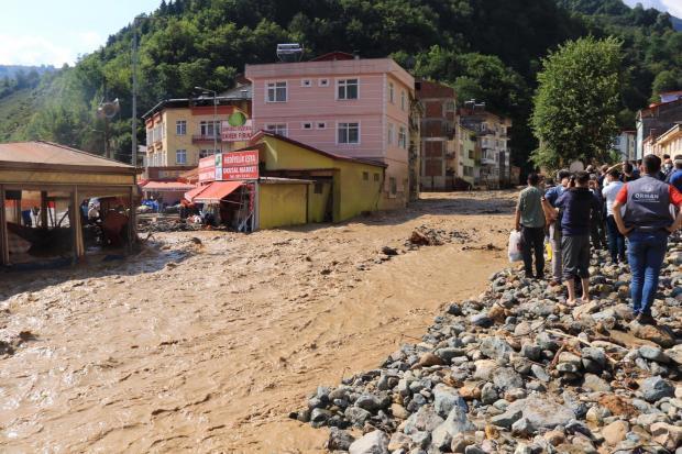 Наводнение на севере Турции