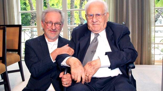Стивен Спилберг с отцом Арнольдом