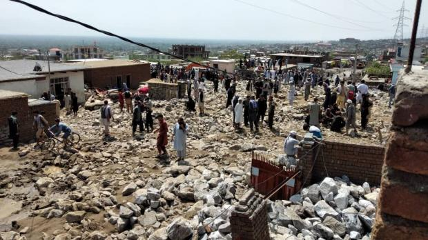 Наводнение в Афганистане