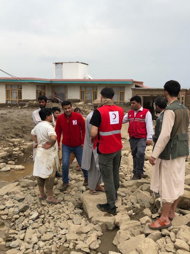 Спасатели в Афганистане