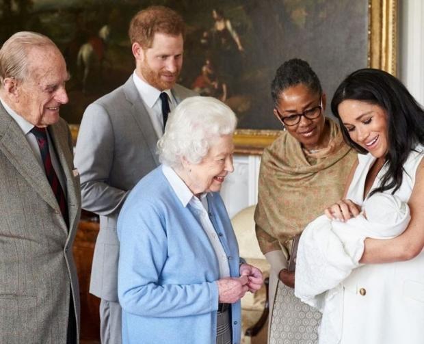 семья Елизаветы II