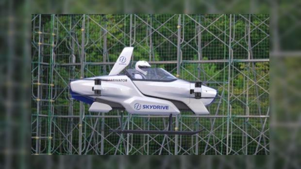 летающий японский автомобиль