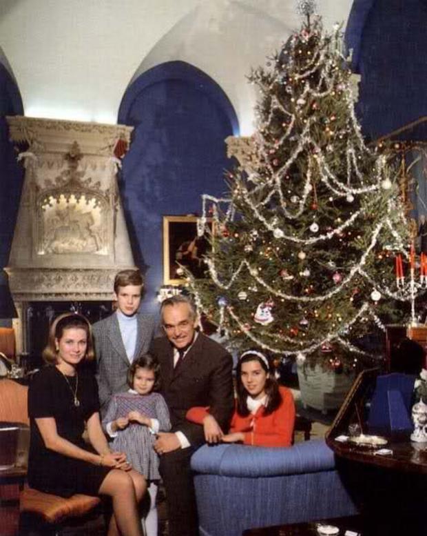 Грейс Келли с семьей