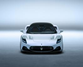 Maserati представил новое купе MC20 с двумя вариантами двигателей