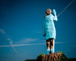 Новая статуя Мелании Трамп в Словении стала поводом для шуток в Сети