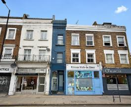 Фото самого узкого дома в Лондоне: сколько стоит уникальное строение