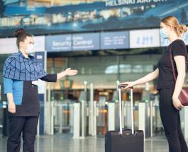 В аэропорту Хельсинки начали работать собаки способные обнаружить коронавирус