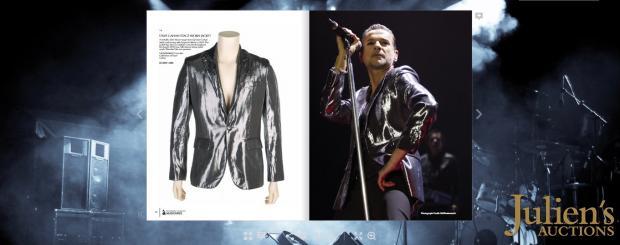 Пиджак лидера группы Depeche Mode