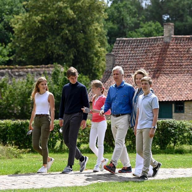 Королевская семья Бельгии