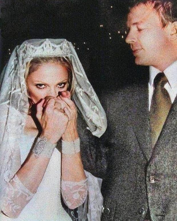 Мадонна и Гай Ричии