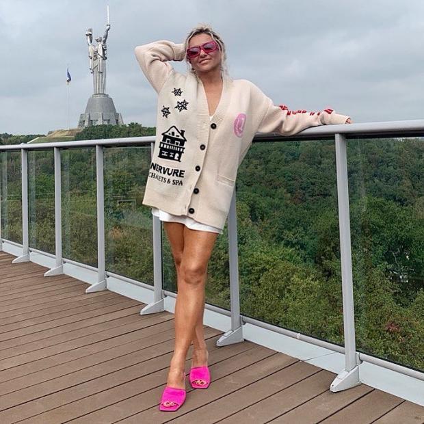 Наталья Могилевская в Киеве