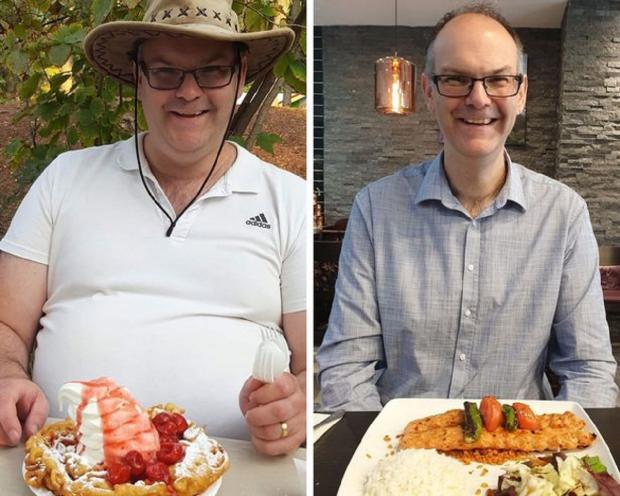 Марк Смит: мужчина который похудел на 59 килограмм