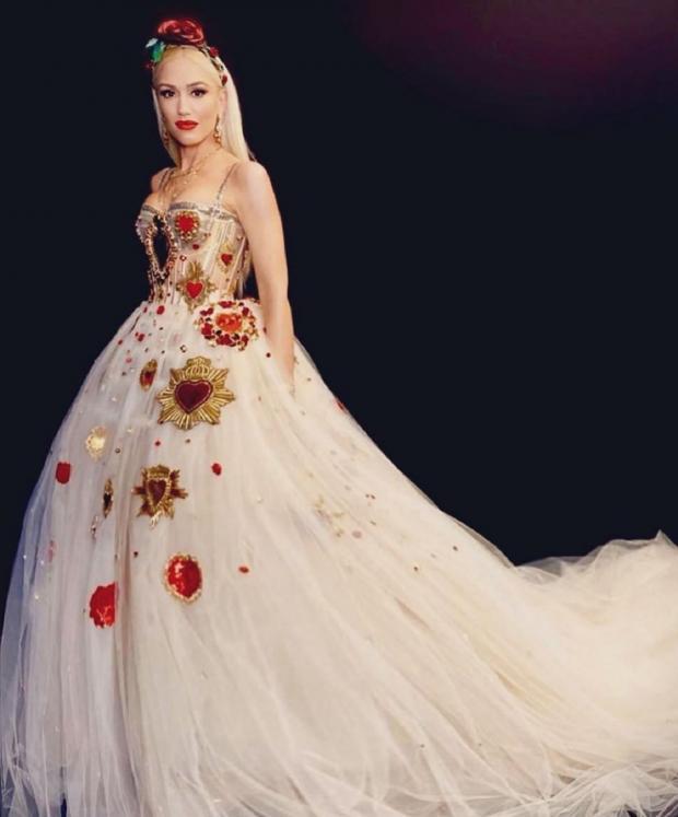 Гвен Стефани в красивом платье