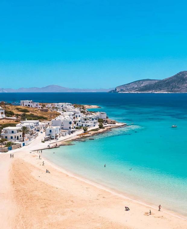 Греческий остров Куфонисия