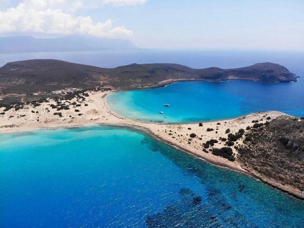 Греческий остров Элафонисос