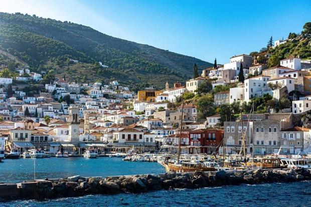 Греческий остров Идра