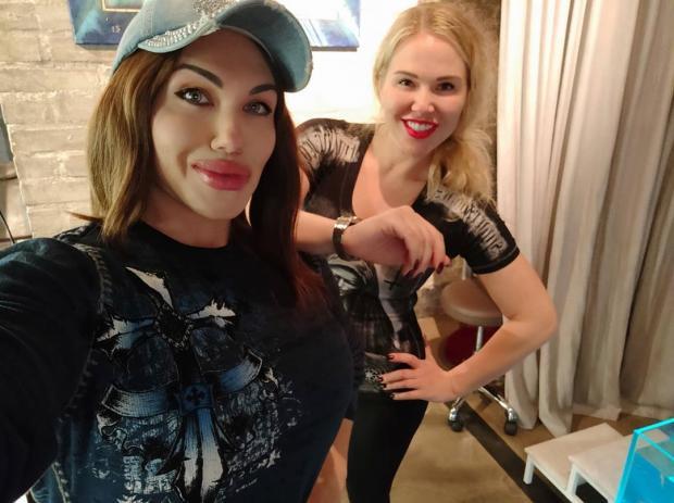 Наталья Амазонка с Масей Шпак