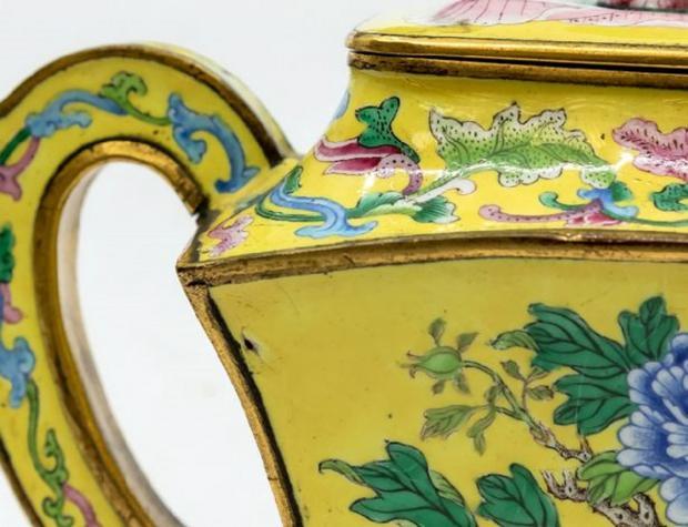 Китайский чайник 18 века