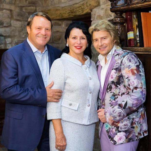 Николай Басков с папой и мамой